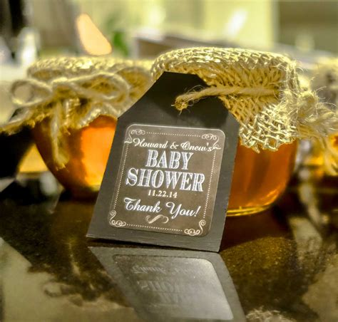 honey pot baby shower favor