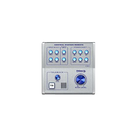 Presonus Central Station 1 presonus csr 1 central station remote musician s friend