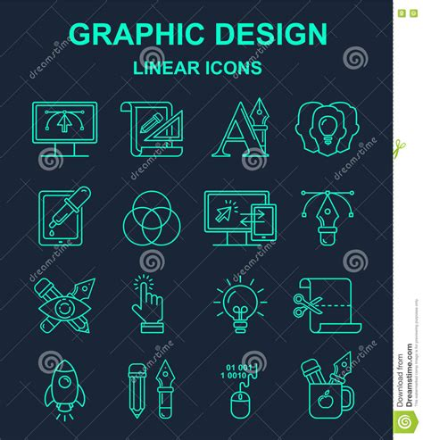 Z Pattern In Graphic Design | graphic designer profession pattern with turquoise linear