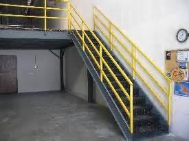 Osha Industrial Stairs by Mezzanine Stairways Knock Down Mezzanine Staircases
