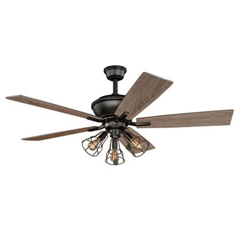 ceiling fans with lights on sale vaxcel clybourn bronze three light ceiling fan on sale