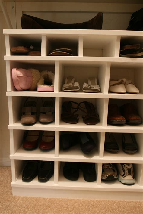shoe organiser ana white shoe organizer diy projects