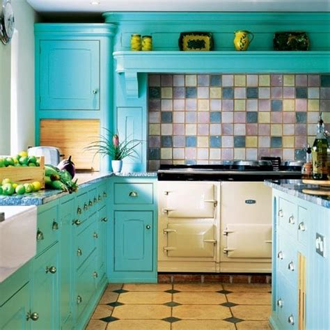 cocinas coloridas
