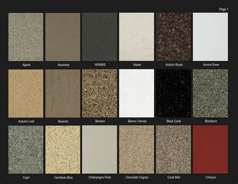 colors of quartz countertops quartz countertop colors www pixshark images