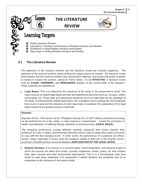 what is literature review in dissertation writing a literature review for a dissertation