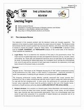 Image result for importance of review of related literature in thesis