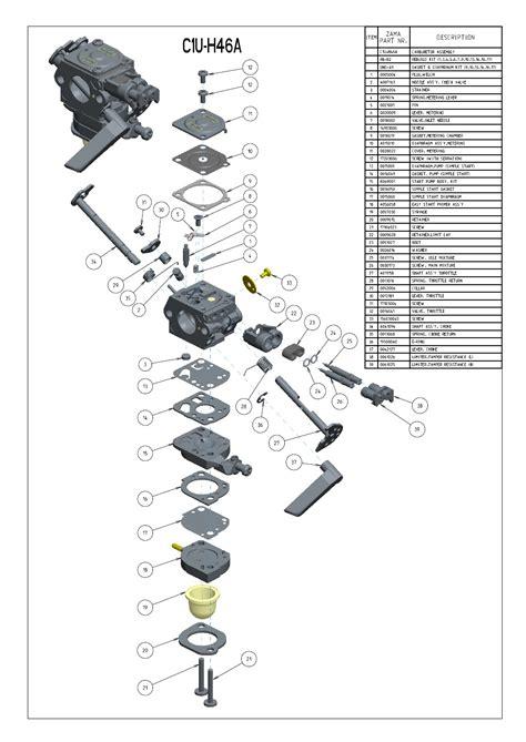 zama c1q carb diagram zama diaphragm carburetor diagram imageresizertool