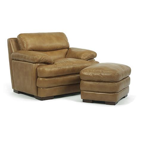 Flexsteel Chair And Ottoman Flexsteel 1127 10 08 Chair And Ottoman Discount Furniture At Hickory Park Furniture Galleries