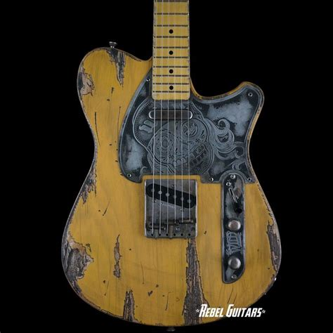 Custom Gitar2 custom guitars tv in butterscotch ultra relic
