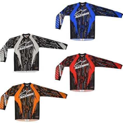 alpinestars motocross jersey alpinestars 2012 racer motocross jersey alpinestars