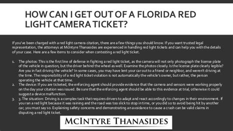 how to beat a red light camera ticket in florida contesting a red light camera ticket decoratingspecial com