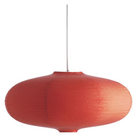 Shiro Orange Paper Easy To Fit Ceiling Shade Buy Now At Paper Ceiling Light Shade