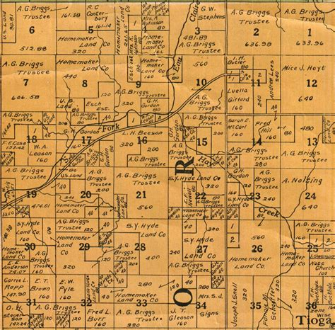 historic maps of foster township clark co wi