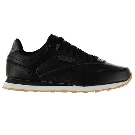 kappa sport shoes kappa persaro trainers mens black sports shoes sneakers