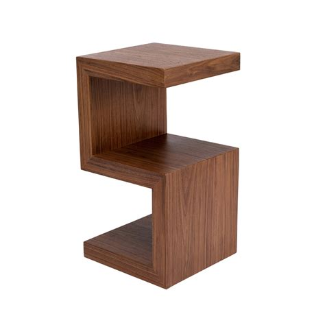 side table s side table walnut dwell