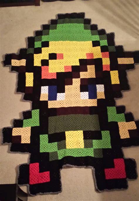 crochet pattern link zelda crochet blanket granny squares link zelda crochet