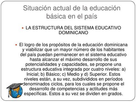Diseño Curricular Dominicano Actual Innovaciones Curriculares Rep 250 Blica Dominicana