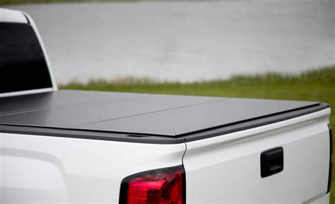 Tri Fold Truck Bed Cover by Lomax Tri Fold Tonneau Cover Folding Truck Bed Cover