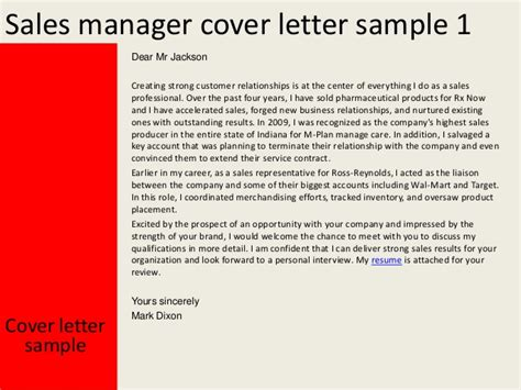 sle cover letter sales manager manager cover letter sle 40 images best photos of