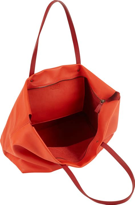 Barneys New York Canvas Tote Bag by Barneys New York Ziptop Tote Bag In Lyst