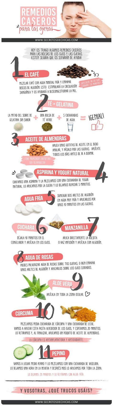 alimentos para las ojeras remedios naturales para las ojeras consejos para eliminar