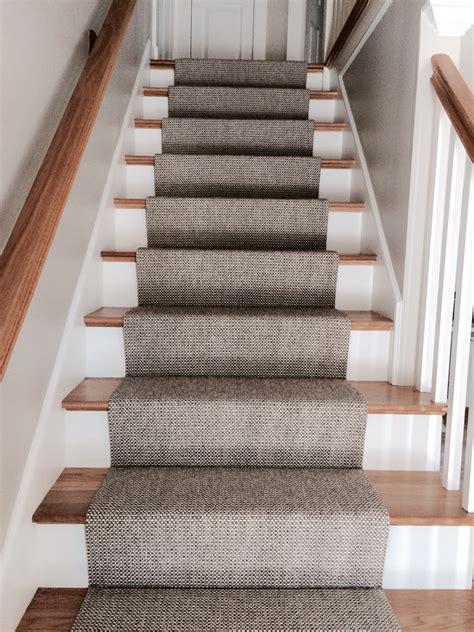 Merida Flat Woven Wool Stair Runner By The Carpet Workroom