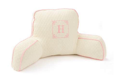 personalized bed rest pillow look for our chic boyfriend pillows on one kings lane