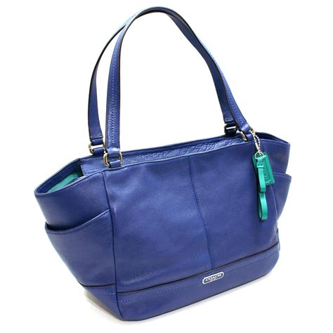 blue handbags blue coach tote handbags