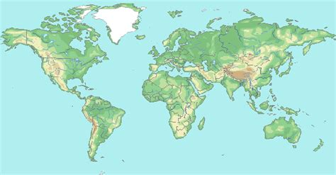Printable World Map Sections | printable world maps world maps map pictures