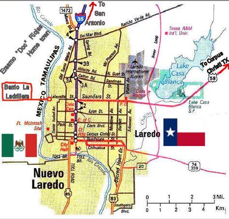 map of laredo texas riojas family history laredo texas