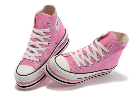 light pink high top converse 2013 converse all light pink platform chuck