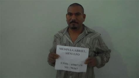 Medina County Arrest Records Arnulfo Medina Gabriel Inmate 86115 Burnet County Near Burnet Tx