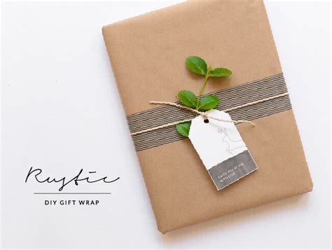 what is d best gift to gift d husband on anniversary diy rustic gift wrap house of hawkes