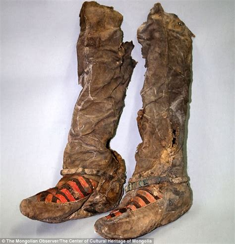 Sepatu Class Black 04 mongolian mummy buried in adidas boots 1 100 years ago