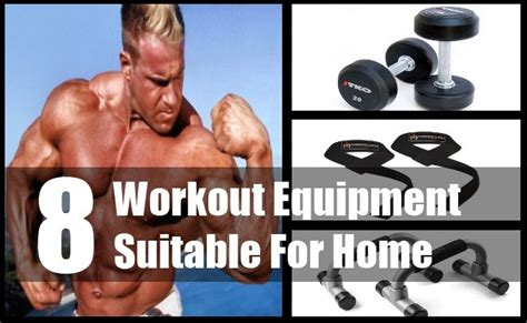 8 workout equipment suitable for home selecting home