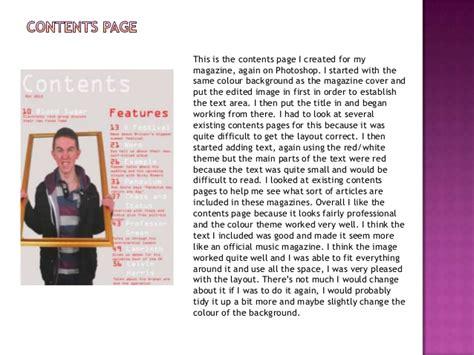 magazine layout evaluation magazine design evaluation