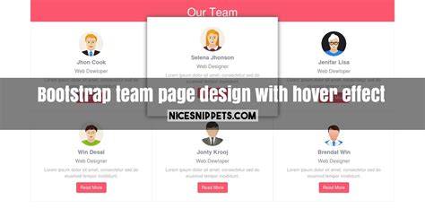responsive design hover effect hover effect archives responsive company team page design with hover effect