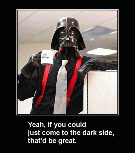 star wars office funny star wars and office space iluvlaughing pinterest