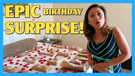 birthday books my birthday surprise epic birthday surprise apriljustintv youtube