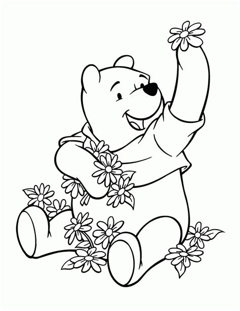 coloring pages winnie the pooh baby free printable winnie the pooh coloring pages for kids