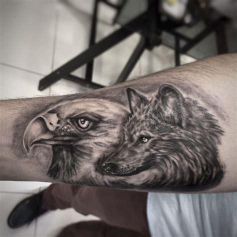 De 20 B 228 Sta Id 233 Erna Om Eagle Tattoos P 229 Pinterest Eagle And Wolf Tattoos 2