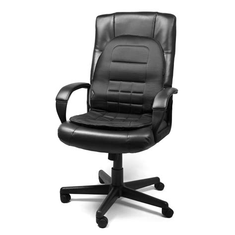 heated desk chair cover wagan in9738 black 12 volt heated seat cushion air intake