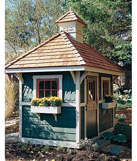 doll house shed celebrate creativity