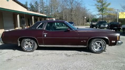 pontiac grand prix 1975 pontiac grand prix coupe 1975 brown for sale xfgiven vin
