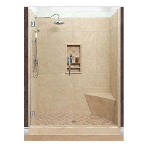american bath factory shower american bath factory custom shower kit 42 x 42 single threshold left side faucet for guest