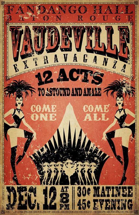 vaudeville broadside junk journaling   burlesque
