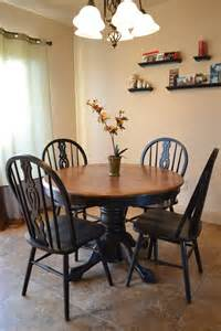 kitchen table refinishing ideas craftaphile refinished table and chairs