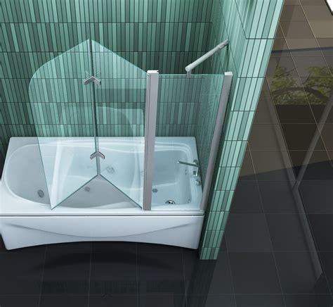 badewannen spritzschutz duschabtrennung badewanne faltbar gispatcher