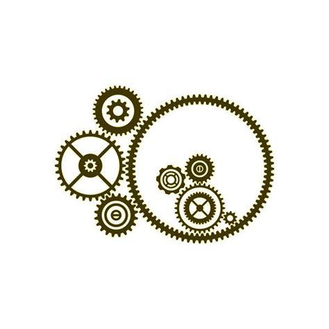 printable gear stencils steunk stencil stencils pinterest