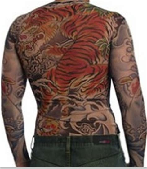 tattoo full body shirt men s full body tattoo shirt full body tiger tattoo shirt